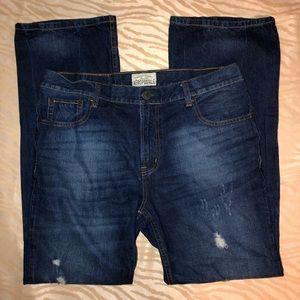 Aeropostale men's jeans, slim 36/34, like new.